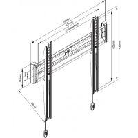 Кронштейн для телевизора NB C2-F, цена, купить, недорого